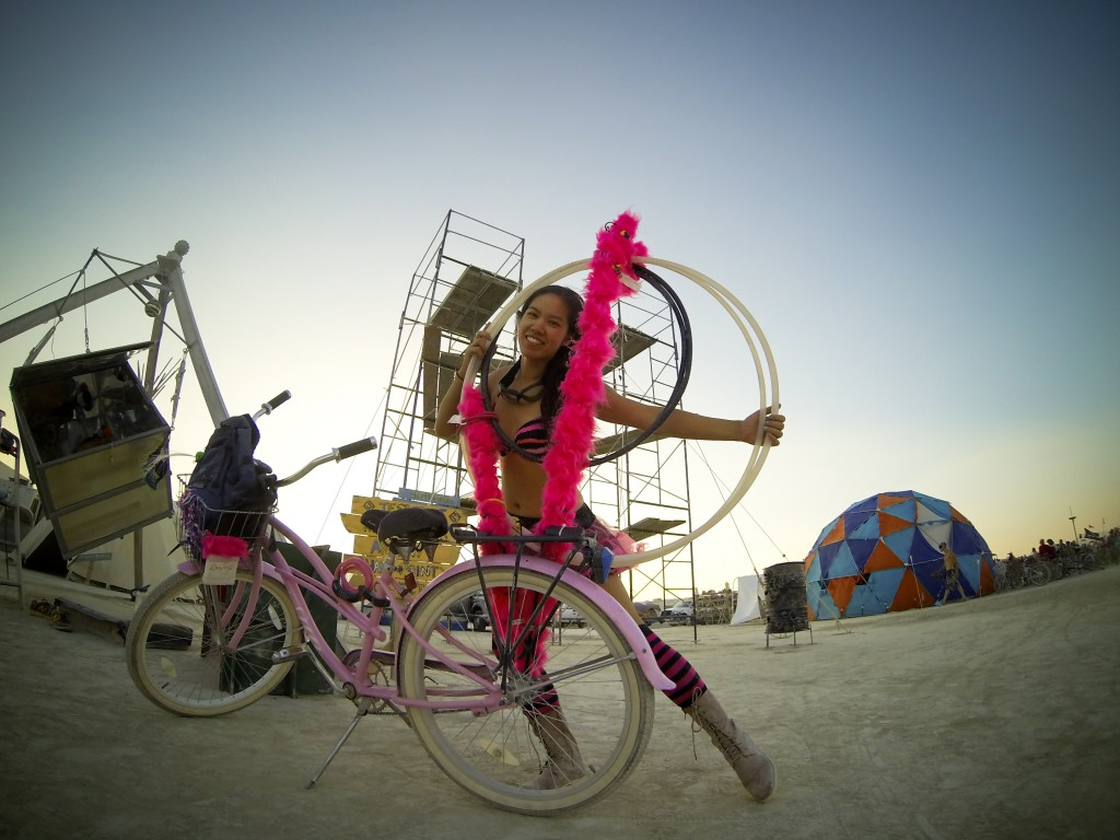 Burning Man 2013:  Prometheatrics sunset